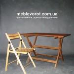 Прокат стула раскладного деревянного в Киеве