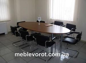 прокат овального стола_аренда столов овальных конференционных