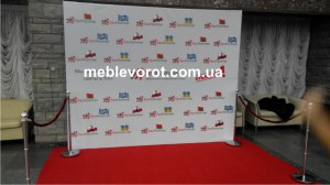 Аренда фотозоны_прокат Press Wall киев