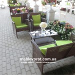 аренда мебели из ротанга
