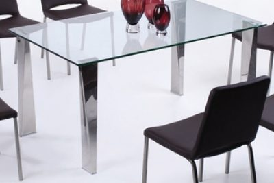 """Аренда (прокат) прямоугольного стеклянного стола """"Лен"""" 150*90 см по 799 грн/сутки"""