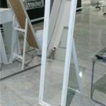 Прокат зеркала элитного в белой рамке в Киеве