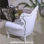 Прокат кресла белого барокко Киев