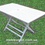 аренда белого деревянного стола