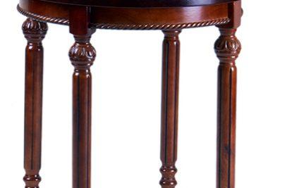 Аренда (прокат) круглого столика кофейного «Барокко» коричневого цвета 250 грн/сутки
