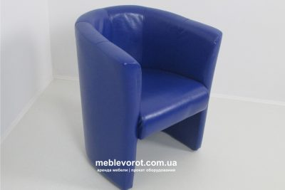 Аренда (прокат) кресла «Лиза» синего цвета по 299 грн/сутки