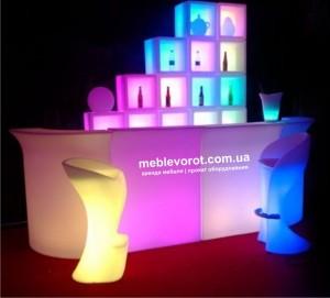 Аренда сетящихся LED кубов