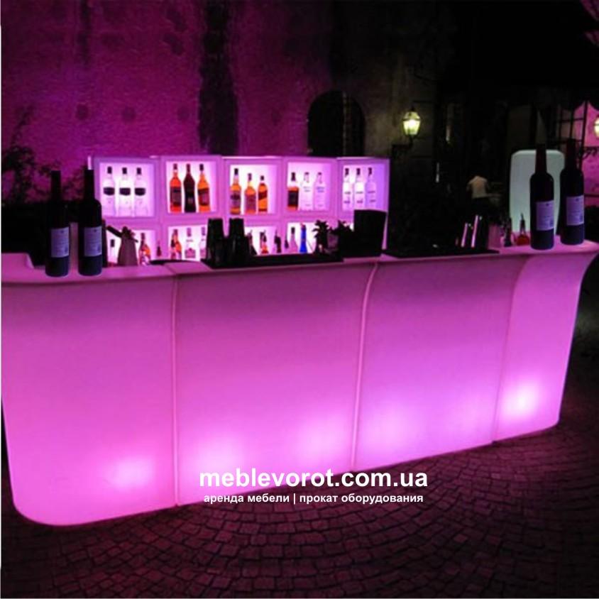 Как сделать светящийся бар