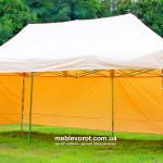 Прокат палаток бежевых в Киеве 8*4 м