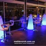 светящийся барный стол напрокат