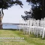 Прокат белого стула для свадьбы