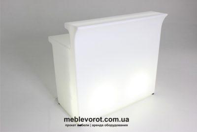 Аренда (прокат) LED слайд прямая барная стойка с подсветкой по 1000 грн/сутки