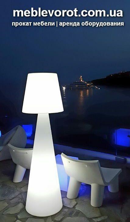 Аренда (прокат) светильника Слайд LED высотой 2 м по 1000 грн/сутки