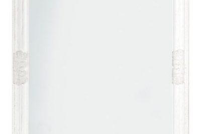 Аренда (прокат) зеркало напольное широкое белого цвета 350 грн/сутки