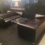 Прокат диванов Кристал черных Киев