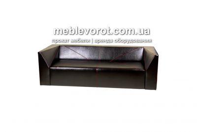 Аренда (прокат) черного дивана «Crystal» по 1099 грн/сутки
