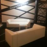 Прокат дивана белого Кристалл в Киеве