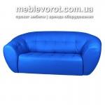 Прокат диванов магнат мягких синих в Киеве