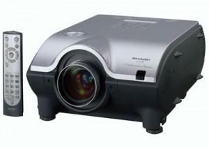 proektor-arenda-rent-kiev-meblevorot_Sharp XG-P25X-1