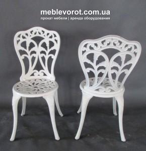 Аренда стульев чугунных Киев