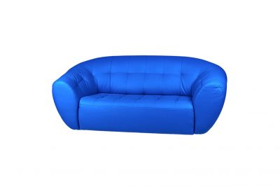 Аренда (прокат) синего кожаного дивана Магнат по 999 грн/сутки
