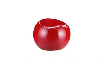 Аренда (прокат) дизайнерского пуфа-шара Рензо красного по 250 грн/сутки