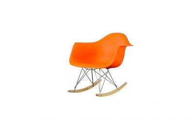 """Аренда (прокат) дизайнерского кресла-качалки """"ТАУЕР"""" оранжевого цвета по 299 грн/сутки"""