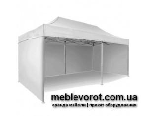 Аренда шатра белого в Киеве