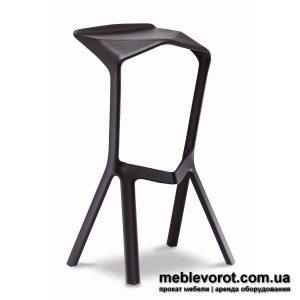 Аренда черных барных стул Киев