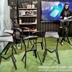 Прокат стульев вольт черных и белых Киев