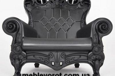 Аренда (прокат) кресла Слайд SLIDE «Queen Of Love» черного цвета по 1300 грн/сутки