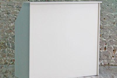 Аренда (прокат) ресепшн белый 125*120 см 800 грн/сутки