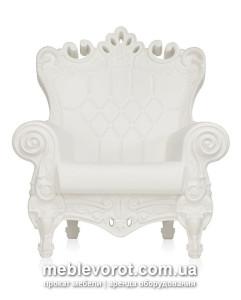 Прокат элитного Слайд белого пластмассового кресла