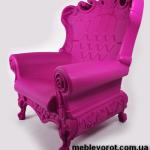 Аренда кресла пластикового Слайд фиолетового в Киеве