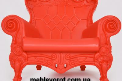 Аренда (прокат) кресла Слайд SLIDE «Queen Of Love» красного цвета по 1300 грн/сутки