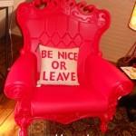 Прокат кресла слайд красного цвета дизайнерского Киев