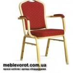 Аренда стульев Бурже красных с подлокотниками в Киеве и по Украине