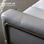 Аренда дивана двух местного Гелери белого по Киеву