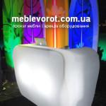 Аренда баров на колесиках передвижных LED Kiev
