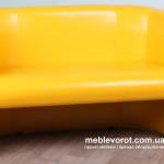 Прокат желтых 2-х местных диванов Лиза Киев