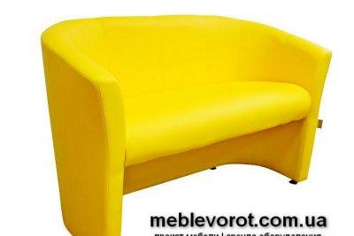 Аренда (прокат) жёлтого дивана «Лиза» по 499 грн/сутки