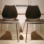 Аренда стульев черных пластиковых Лили Киев