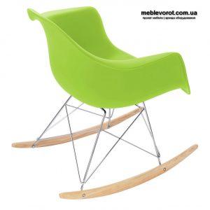 Аренда кресла качалки зеленого цвета Киев