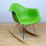 Аренда кресло качалок Тауер зеленого цвета