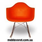 Аренда стульев качающихся оранжевых в Киеве
