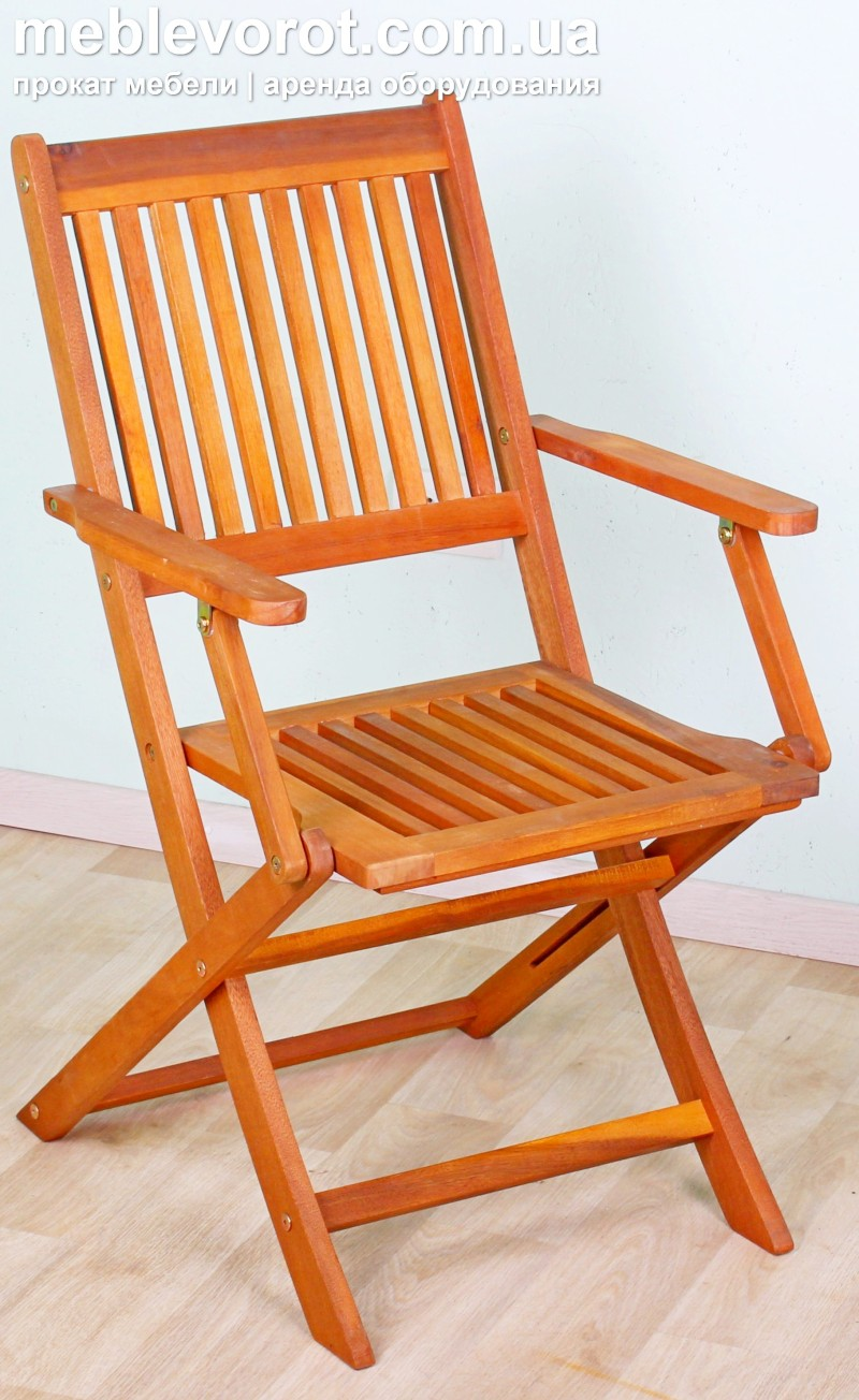 "Аренда (прокат) стул ""Меранти"" с подлокотниками 100 грн/стуки"