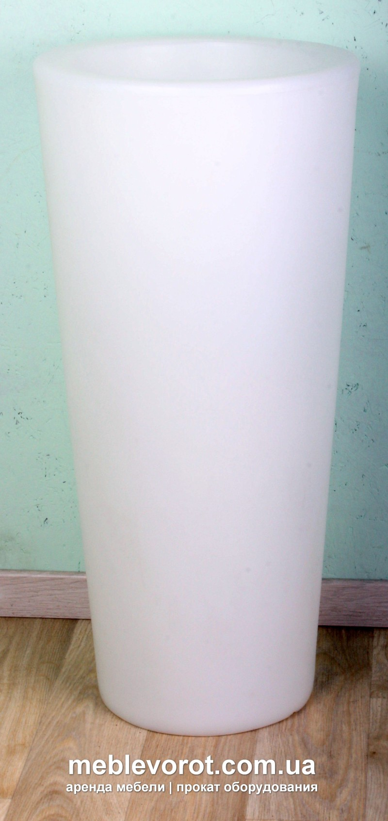 """Аренда (прокат) ЛЕД (LED) ваза/ниша под лёд """"Gleam"""" 300 грн/сутки"""