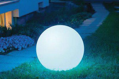 Аренда (прокат) ЛЕД (LED) шар диаметром 50 см на аккумуляторе по 300 грн/сутки