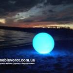 Прокат пластмассовых LED шаров в Киеве
