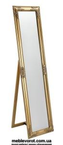 Аренда зеркал напольных с золотім напылением в Киеве